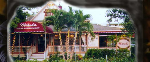 House By Owner >> Marek's Collier House Restaurant Marco Island Florida